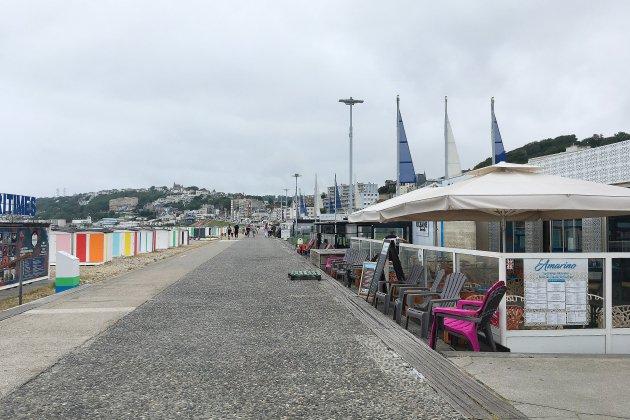 Vols dans des restaurants de la plage du Havre : un homme arrêté