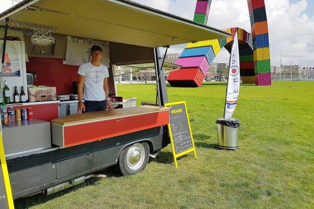 Le Havre: un food truck pour inciter à ramasser les déchets