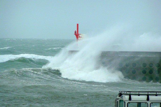 Coup de vent annoncé sur le littoral de la Manche