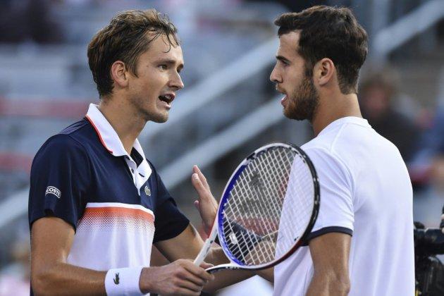 Tennis: une finale Medvedev-Nadal au Masters 1000 de Montréal