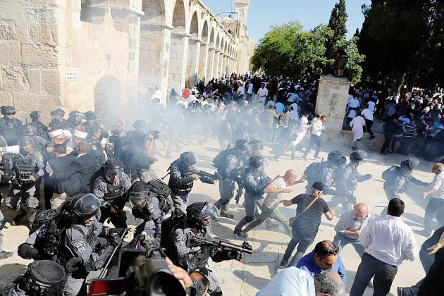 Heurts sur l'esplanade des Mosquées au premier jour de l'Aïd al-Adha