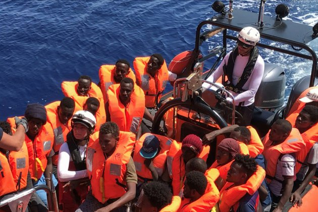 Méditerranée : encore un sauvetage pour l'Ocean Viking, 356 migrants à bord
