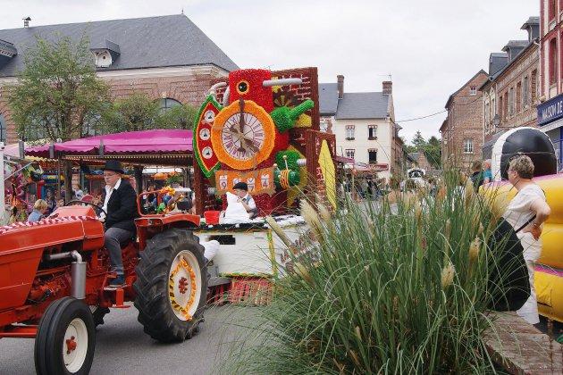 Doudeville: traditionnel Corso fleuri du 15 août