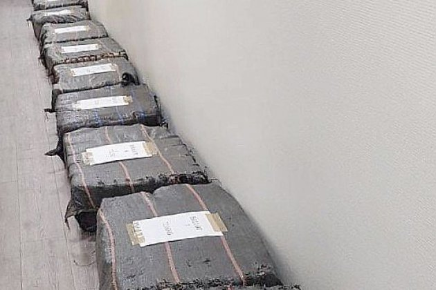 Plus d'une tonne de cocaïne saisie sur le port du Havre