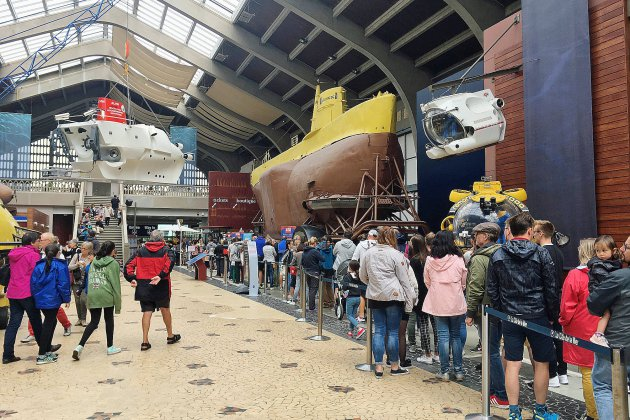 A Cherbourg, la Cité de la Mer bat son record de visiteurs!