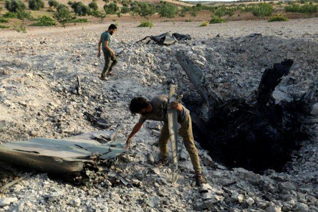 Syrie: les prorégime progressent à Idleb, un avion de Damas abattu par des jihadistes
