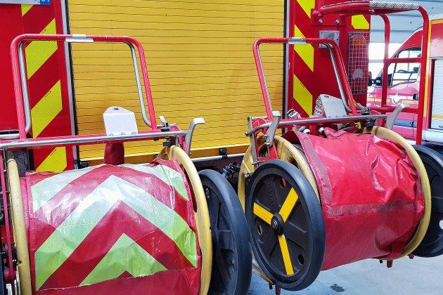 Calvados: une usine de dynamite en feu