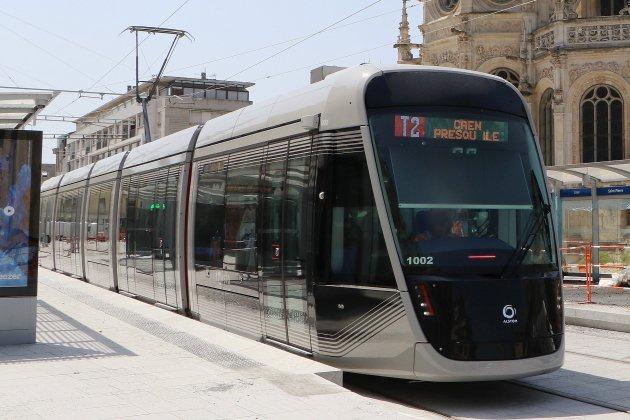 Tramway de Caen : des travaux de nuit du 20 au 24 août