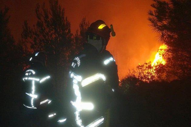 22 sapeurs-pompiers de la Manche engagés contre l'incendie dans l'Aude