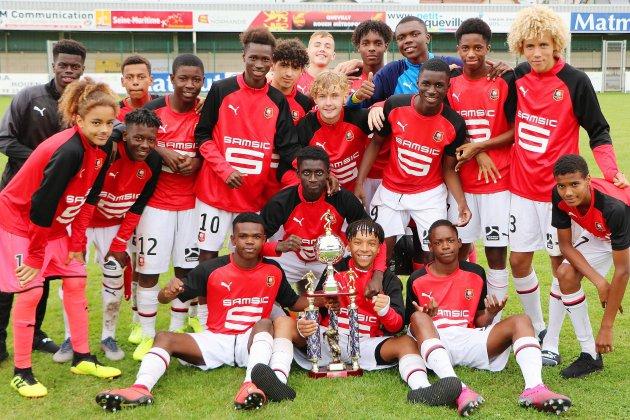 Foot : Rennes remporte le tournoi U17 Mahmoud-Tiarci à Petit-Quevilly