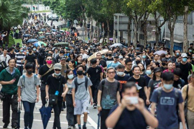 Hong Kong: les manifestants se préparent à un rassemblement de masse dimanche