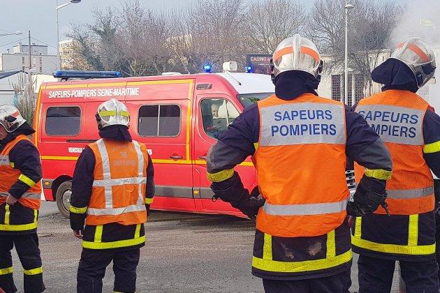 Un incendie se déclare dans un atelier en Seine-Maritime