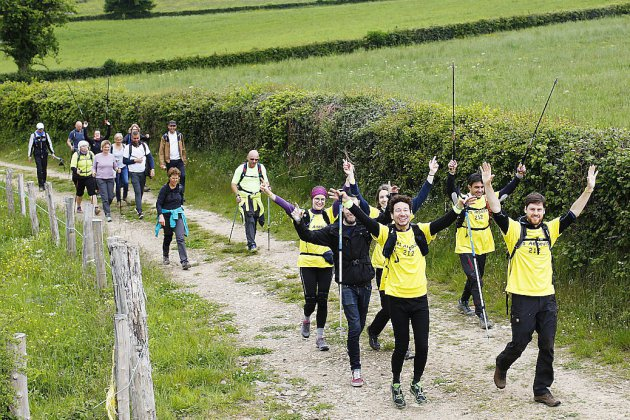 Succès annoncé pour le premier Trailwalker Oxfam à Dieppe
