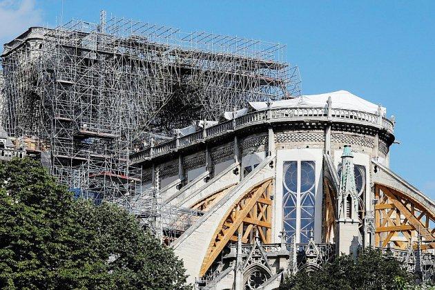 Reprise du chantier de consolidation de Notre-Dame de Paris