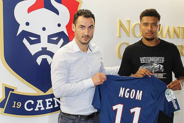 SM Caen : Santy Ngom, nouvel attaquant