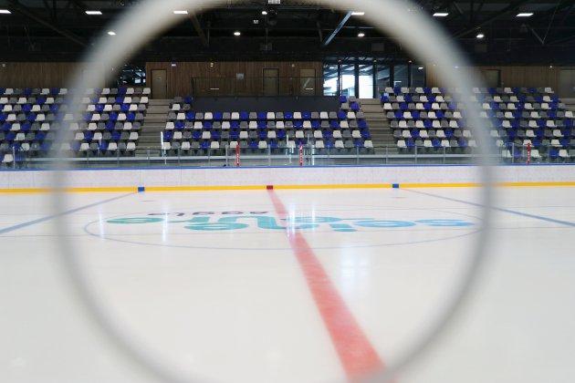 [Photos et vidéo] Visite de Glacéo, la nouvelle patinoire de Louviers