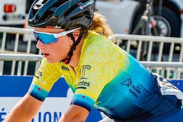 Cyclisme: la Normande Gladys Verhulst perd son maillot tricolore