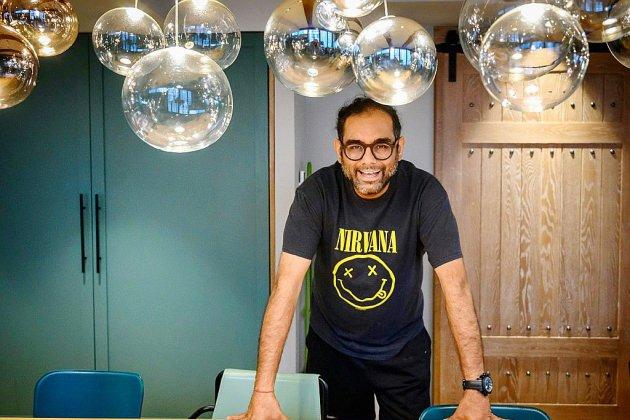 """L'Indien Gaggan, """"rock star culinaire"""", défricheur de la cuisine expérimentale en Asie"""
