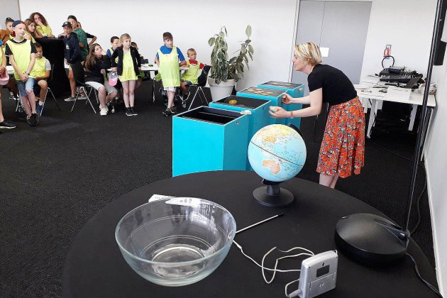 Rouen : un atelier ludique sur l'environnement au Panorama XXL