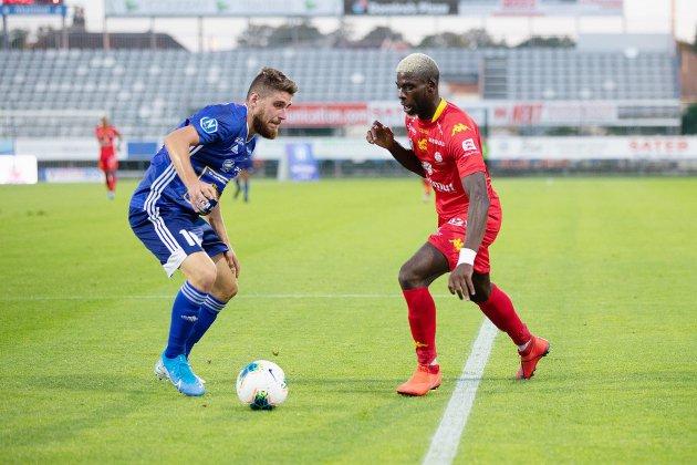 Football : Quevilly Rouen Métropole sombre face à Villefranche