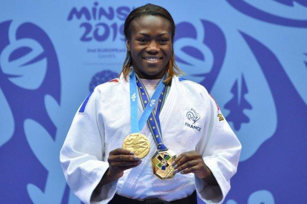 Mondiaux-2019: sans Riner, le judo français se range derrière Agbegnenou