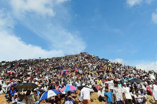 Au Bangladesh, 200.000 Rohingyas commémorent leurs deux ans d'exil