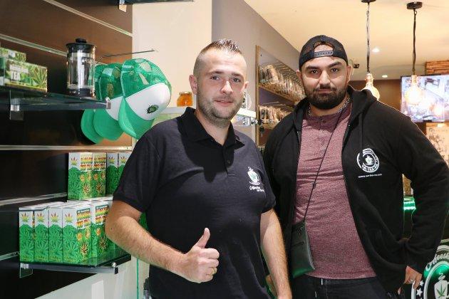 Rouen: un nouveau coffee shop vend des produits à base de cannabidiol