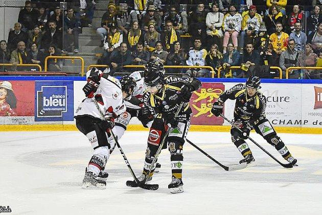 Hockey : les Dragons de Rouen réalisent une grosse performance contre Fribourg