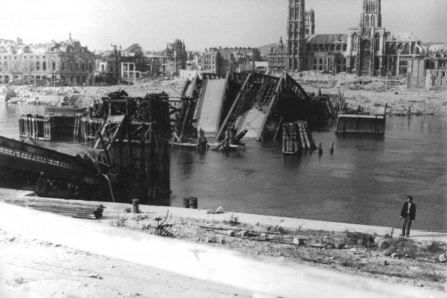 [Notre dossier] 75e anniversaire de la libération de Rouen : l'épiphénomène de la bataille de Normandie