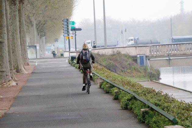 Un nouveau périphérique à Caen... pour les vélos !