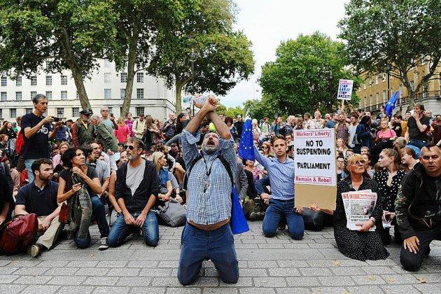 GB: déconvenue judiciaire pour les adversaires d'une suspension du Parlement