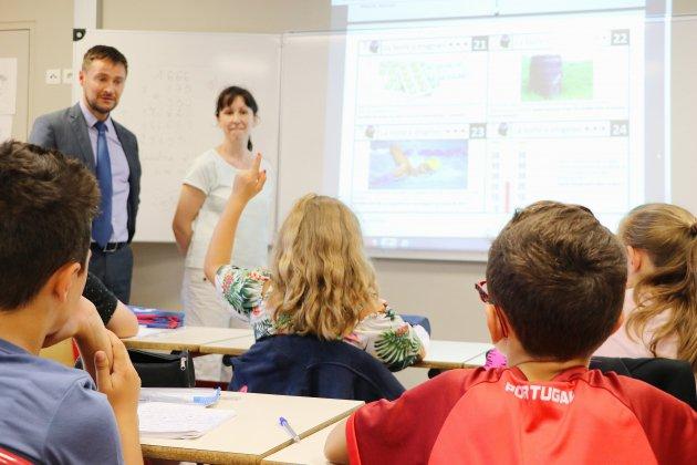 Petit-Quevilly. Seine-Maritime: les cours ont déjà repris pour des écoliers!