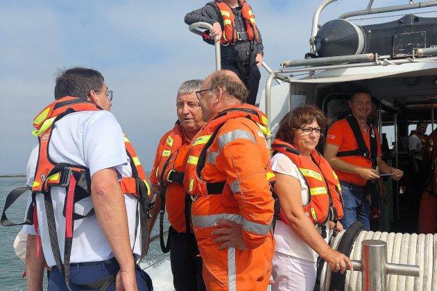 SNSM: la mission sénatoriale à la rencontre des sauveteurs du Calvados