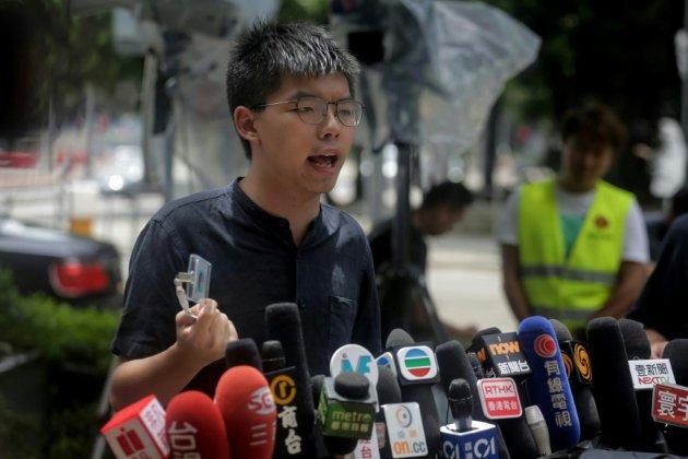 Hong Kong: le militant prodémocratie Joshua Wong arrêté, selon son parti