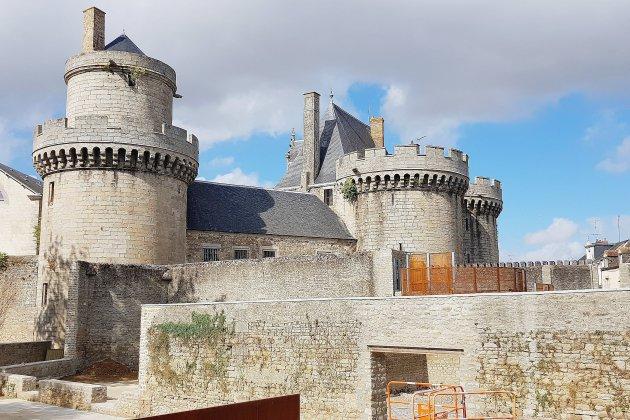 Découvrez ici le futur parc urbain dans les cours du château d'Alençon