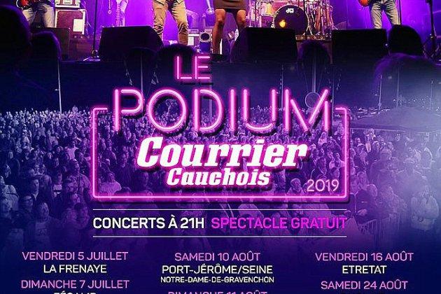 """La tournée du podium """"Courrier Cauchois"""" s'achève à Yvetot"""