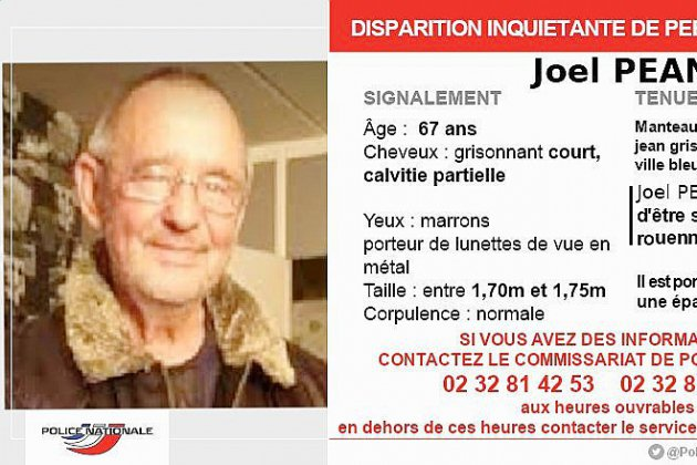 Disparition inquiétante : un appel à témoin en Seine-Maritime