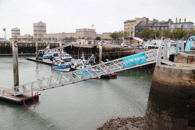 Le port de pêche du Havre inauguré
