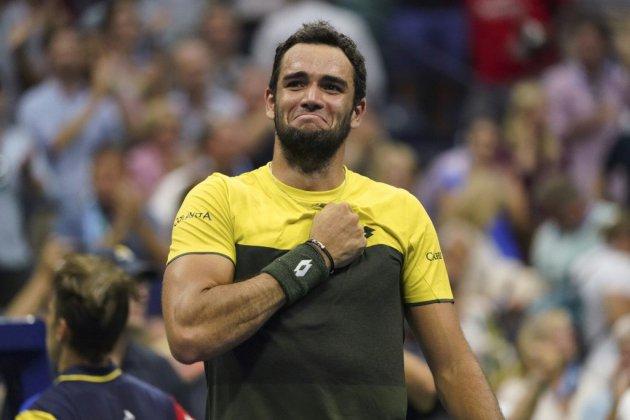 US Open: Berrettini assomme Monfils