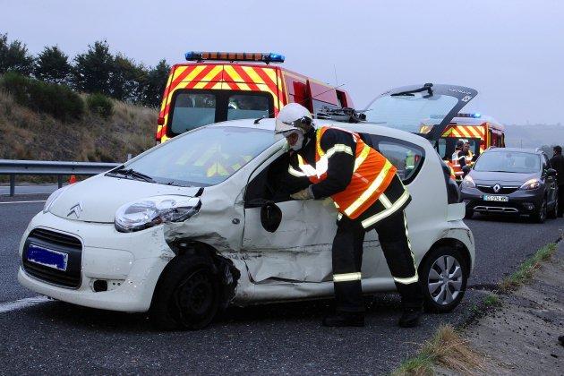 Manche : collision entre deux voituressur la RN174