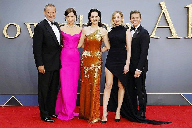 """Grande première à Londres du film """"Downton Abbey"""", quatre ans après la série TV"""