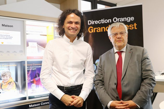 Orange : déploiement important de la fibre en Normandie