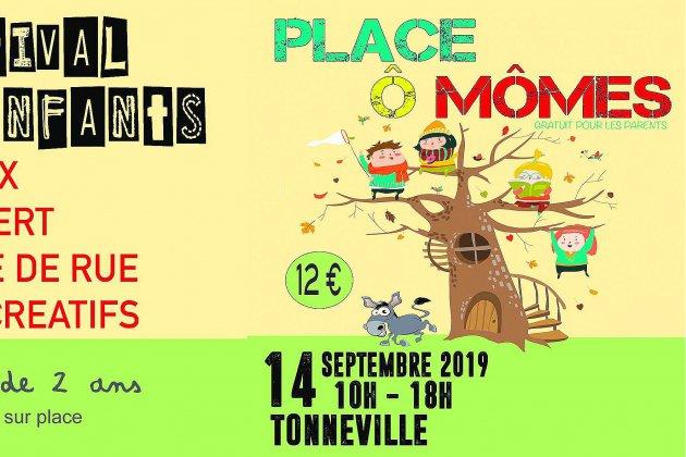 Place ô mômes, festival pour les enfants dans le Cotentin (50)