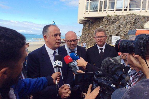 Granville: le ministre de la pêche rassurant face au Brexit