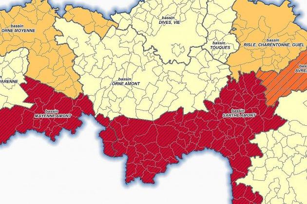 Le renforcement des restrictions d'eau dans l'Orne