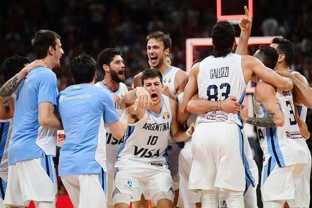 Mondial de basket: les Français balayés par l'euphorie argentine