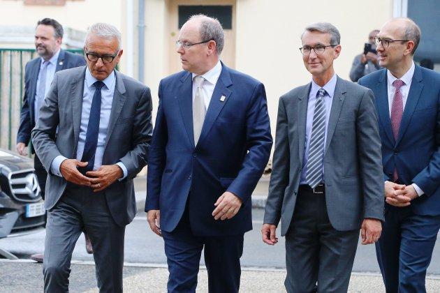[photos] Le Prince Albert II de Monaco en visite en Seine-Maritime