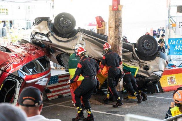 """Aux """"JO des pompiers"""", 300 athlètes, un même but: sauver des vies"""