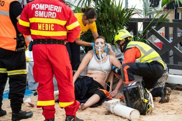 """Trois cents athlètes venus de 16 pays aux """"JO des pompiers"""""""