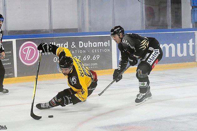 Hockey sur glace: les Dragons de Rouen s'offrent une première victoire à domicile